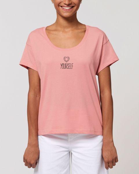 "Damen oversize T-Shirt ""Spread - Selflove"""