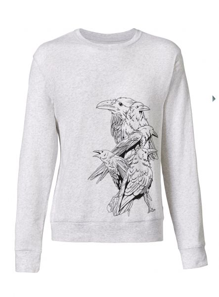 "Herren Sweatshirt Follow ""Birds"""