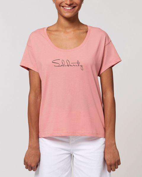 "Damen oversize T-Shirt ""Spread - Solidarity"""