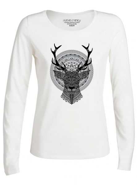 """Have Fun """"Deer"""" in white"""