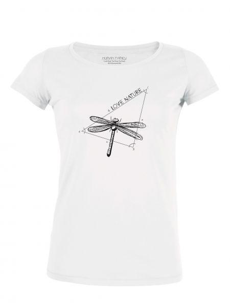 """Damen Rundhals T-Shirt """"Amorous Love Nature"""""""