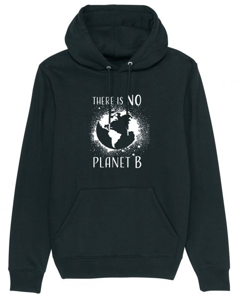"Unisex Hoodie Charmer ""No Planet B"" in 6 Farben"