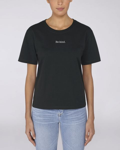 "Damen Oversize T-Shirt ""Frame-Be kind"""