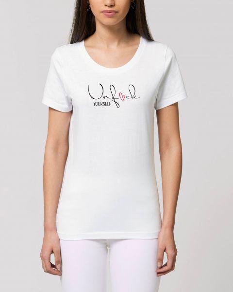 """Damen T-Shirt """"Unf*ck yourself"""""""