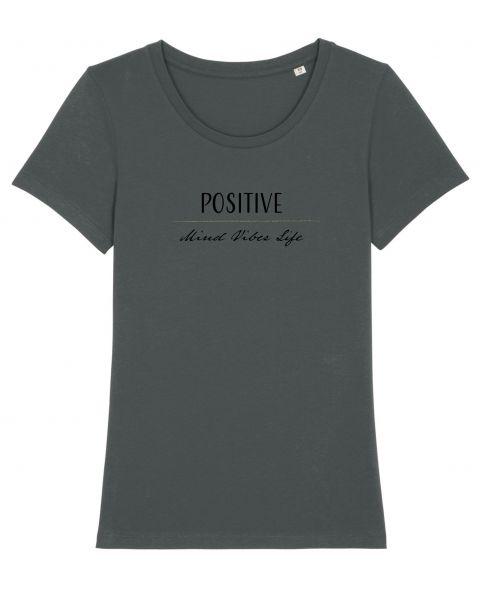 "Roundneck T-Shirt ""Positive Vibes"""