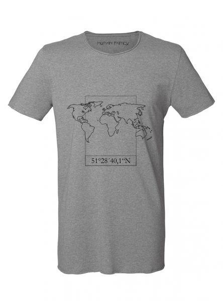 """Herren Roundneck T-Shirt """"Coordinates"""""""