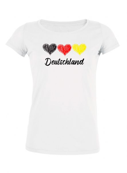 "Damen Rundhals T-Shirt ""WM - Team Germany"""