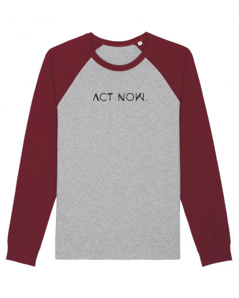 "Unisex Langarmshirt ""Captor - ACT NOW"""
