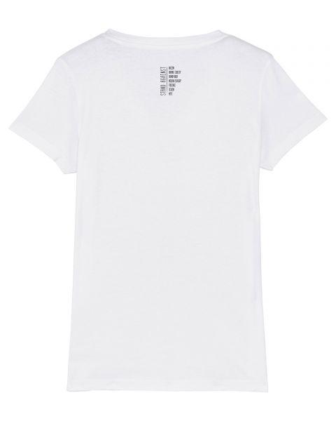 "Damen V-Neck T-Shirt - ""Evolution - Stand Against"""