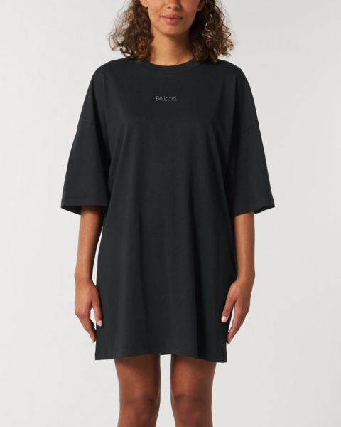 "Oversize Damen T-Shirt-Kleid ""Be kind"""