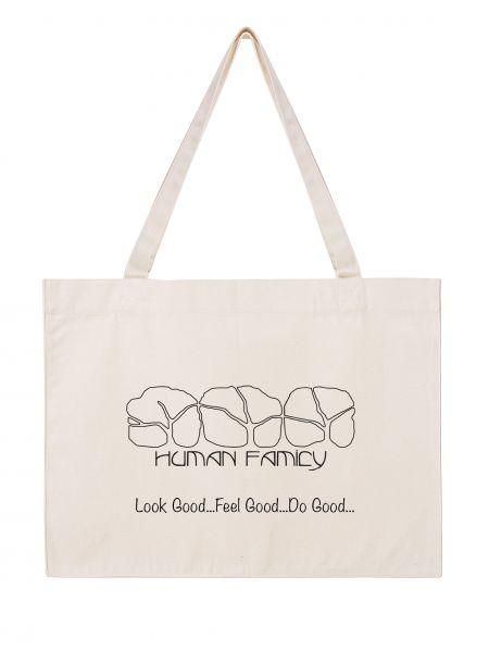 """Shopper aus Bio-Baumwolle """"Logo"""""""