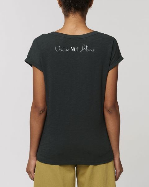"Damen Flammengarn T-Shirt - Imagine ""Flame - You are Not alone"""