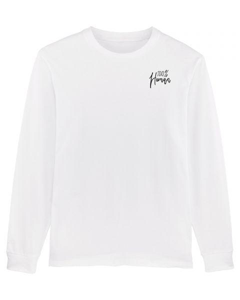 """Herren Sweatshirt """"Hold Over - 100% Human"""""""
