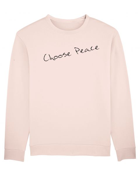 "Unisex Sweatshirt ""Smooth - Choose Peace"""